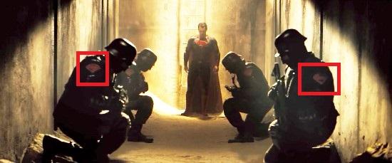 ▲빨간 네모 표시가 '슈퍼맨 마크'