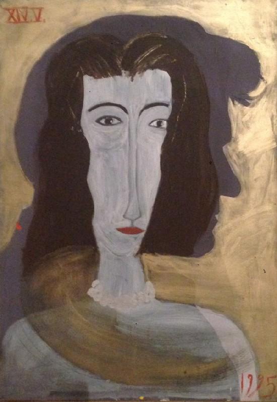 """▲ 장 샤를 드 까스텔바쟉 """"Muse Shadow""""  Acrylic on Canvas"""