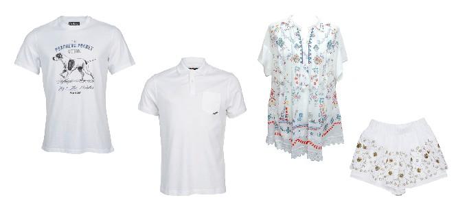 ▲ 왼쪽부터 셔츠(2EA)_바버(Barbour)/블라우스,숏팬츠_BNX