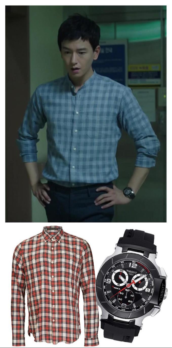 ▲사진출처:tvN <오나의귀신님>캡쳐/셔츠_바버, 시계_티쏘