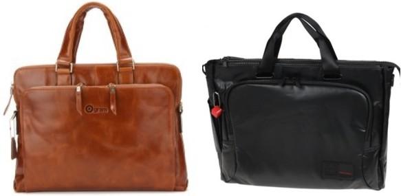 ▲(좌)오그램 레더 서류가방 / (우) 헤드그렌 서류가방
