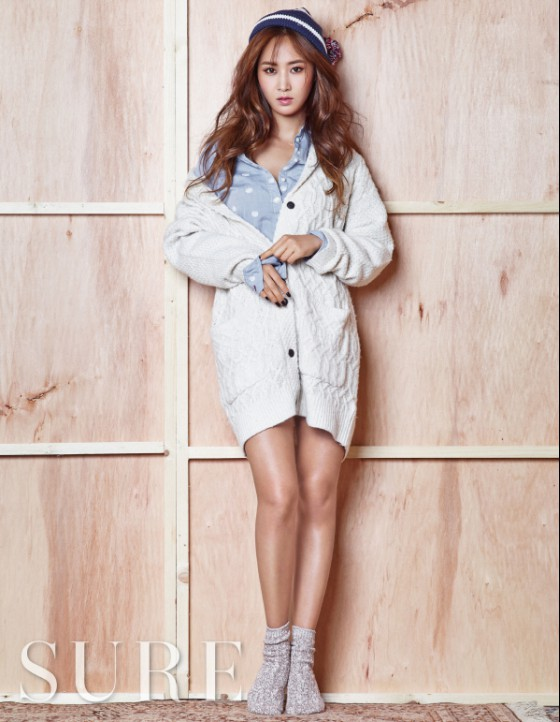 슈어 11월호 소녀시대 유리 화보 (5).jpg