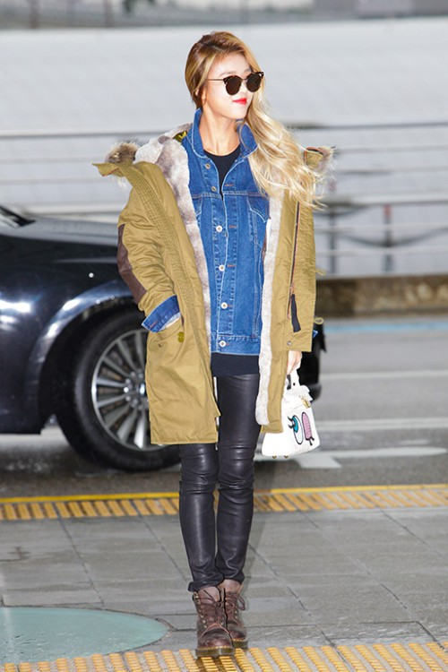 '금발미녀' 유빈, 선글라스 하나로 시선 집중! '프리티랩스타'의 위엄(5).jpg