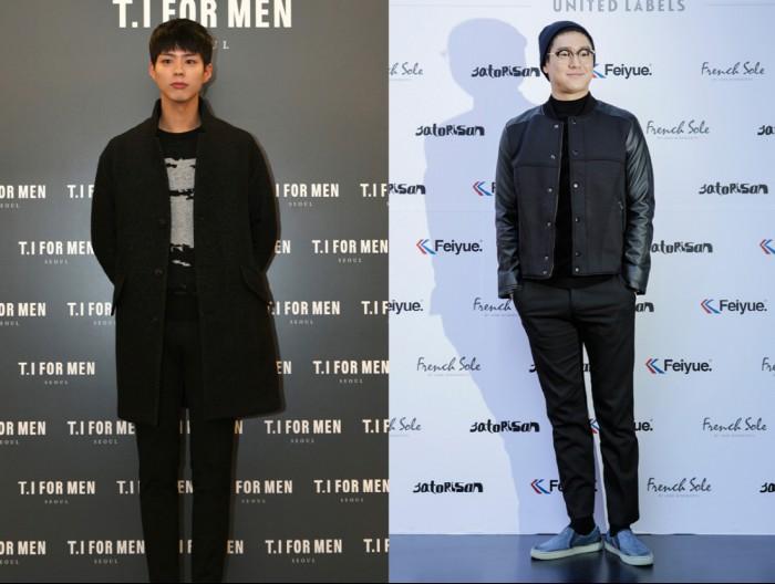 ▲(좌)박보검, (우)고경표