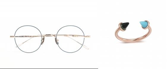 ▲(왼쪽부터) 어쉬 by 시원아이웨어, 뚜아후아 by 쥼