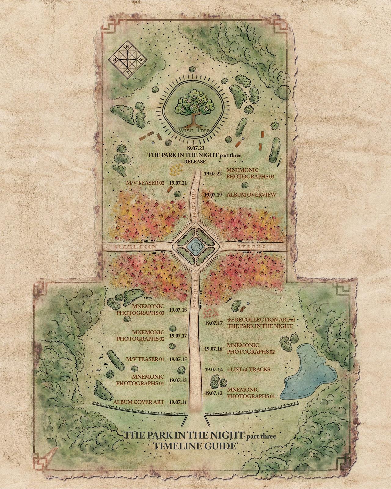 (0710) 공원소녀 '밤의 공원 part three' 타임라인 이미지.jpg