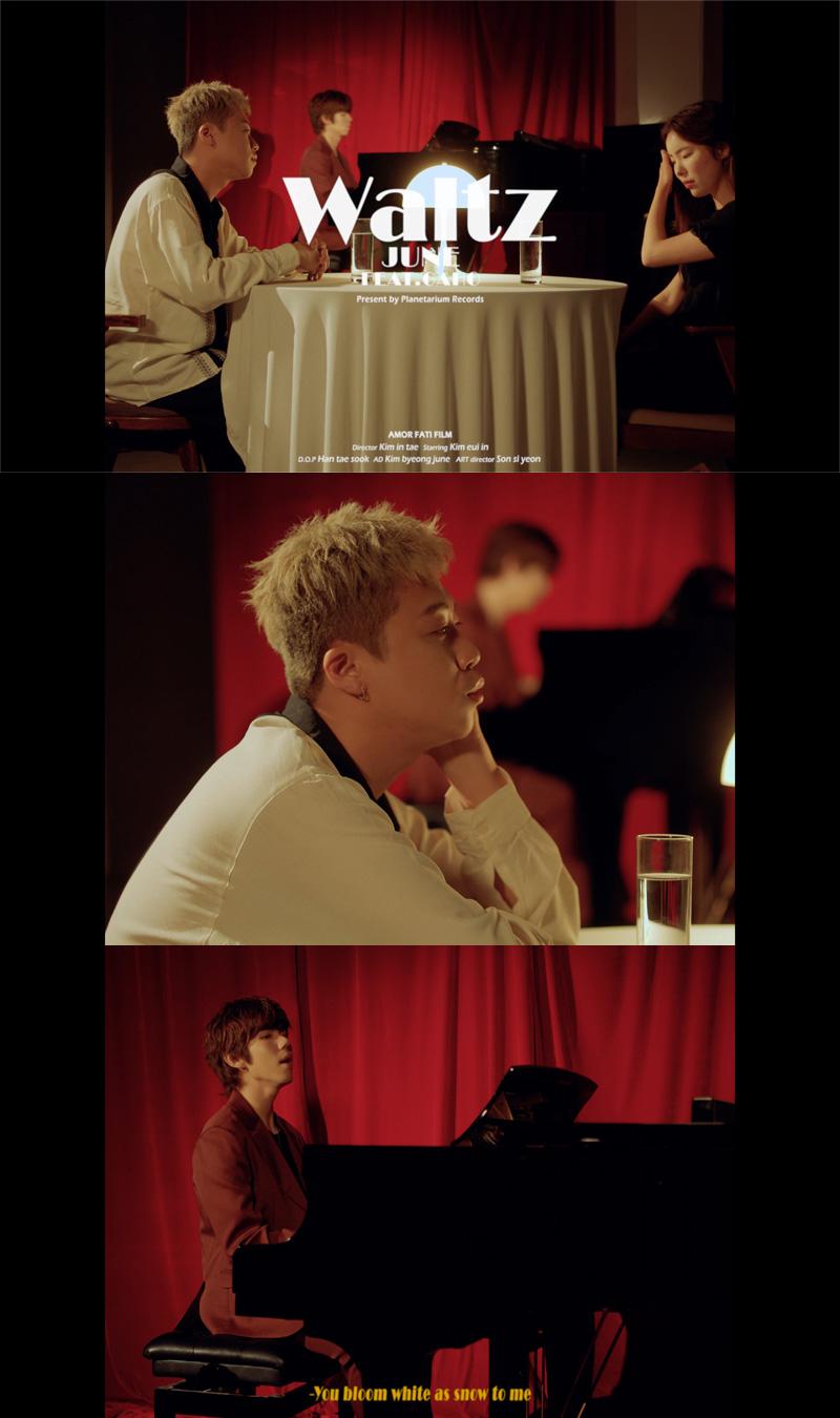 20190711_싱어송라이터 준(JUNE), Waltz 라이브 영상 공개.jpg